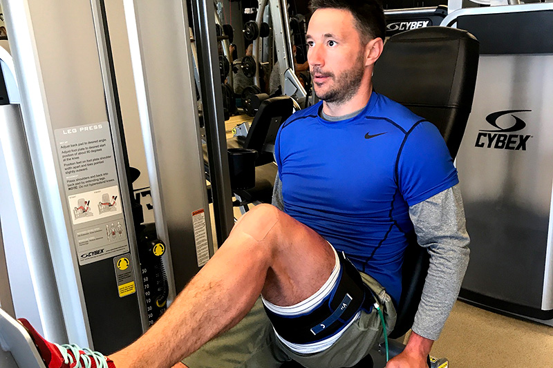 At USA Sports Therapy, we offer Blood Flow Restriction (BFR) therapy, the most effective alternative for healing a post injury or surgery muscle. BFR Therapy improves strength, and decrease muscle wasting. Book an appointment today!